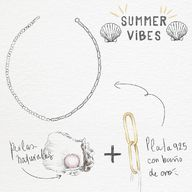 Yes!! Yes!! Yes!! A little bit of summer is what the whole year is all about. Our #pearl mixed #necklace is the definition of summer #look 💛🐝
