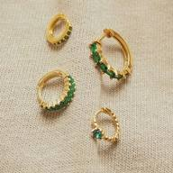🐝Say hi to the green family 💚 #itsmieljewelry #hoops