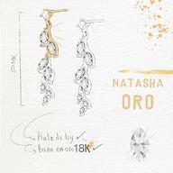Feel in loooove with our NATASHA #earrings 💛 #jewelry 🐝