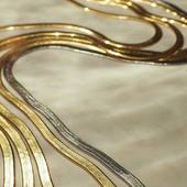 It looks like magic pasta or...I am hungry?😋 INDIRA NECKLACE 🐝 🍝 #itsmieljewelry